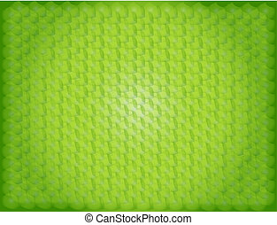 Green pattern abstract background