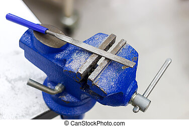 Rasp for aluminium work