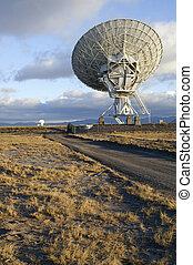 Picture of Radio Telescope - Landscape of Very Large Array...