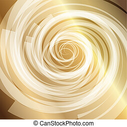 Gold whirlpool background