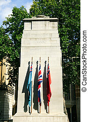 The Cenotaph built between 1919-20 and designed by Edward...