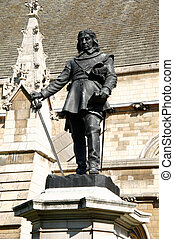 Oliver Cromwell statue - Oliver Cromwell 1599-1658 became...