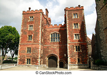 Morton's Tower, Lambeth Palace - Morton's Tower built in...