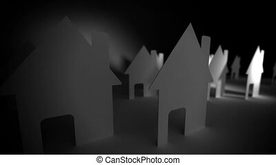 Paper houses Concept
