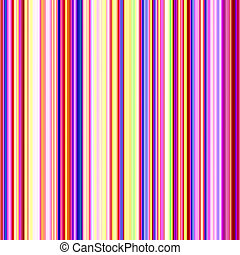 Multicolored streaks