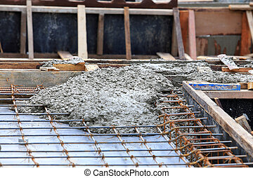 Cement for home builder