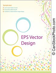 Vector brochure design