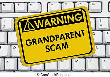 Grandparent Scam Warning Sign