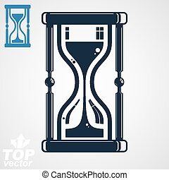 Eps8 high quality vector hourglass