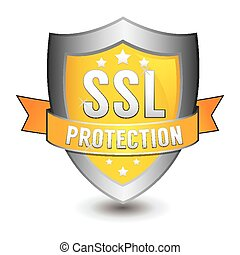ssl protection yellow shield