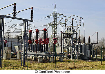 Technology - transformer station