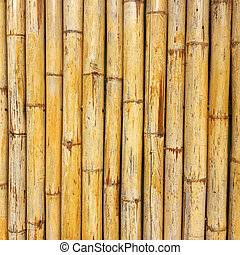 Bamboo wall  - The bamboo wall of thailand