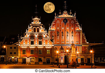Blackheads House - Restored Blackheads House In The Old Riga...