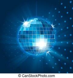 Vector mirror disco ball