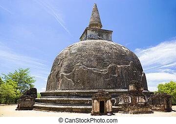 Kiri Vehera, Polonnaruwa, Sri Lanka - Image of UNESCOs World...