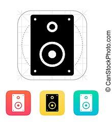 Audio speakers icon.