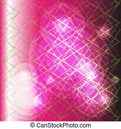 pink background with grid texture