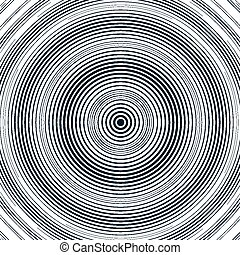 Optical illusion, moire background, abstract lined...