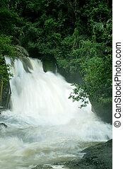 Bantimurung waterfall on Maros Indonesia