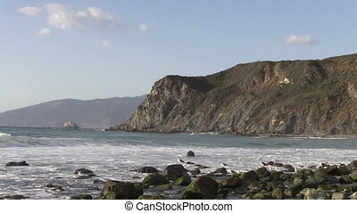 Big Sur Coastline - the rugged scenic big sur California...