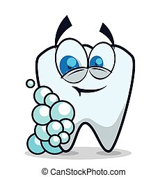 Dental design,vector illustration - Dental design over white...