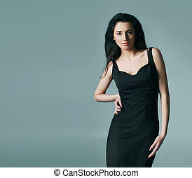 Picture of young attractive woman