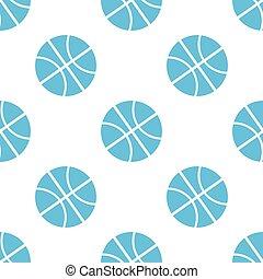 Basketball seamless pattern