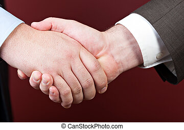 Business Negotiations - Business negotiations illustrated...