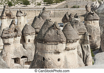 Fairy tale chimneys - Fairy tale chimney rocks in Pasabg...