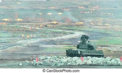 Antiaircraft gun missile system ZSU-23-4M4 Shilka-M4 -...