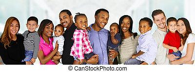 famílias,