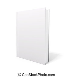 3d book with blank covers