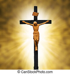 Crucifixion - Jesus Crucified on the Cross.Crucifixion...