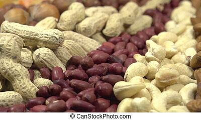 Different Types of Nuts - Moving past the camera portion of...