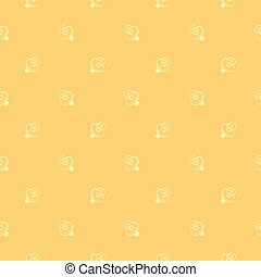 pacifiers pattern - Seamless pattern with children pacifiers...