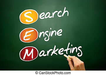 引擎, 銷售, 搜尋