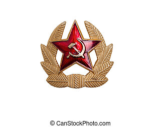 Cockade to soviet army,the most powerful army in world