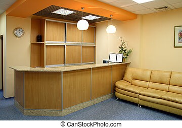 recepción, habitación, interior