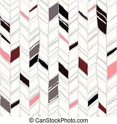 Hand drawn herringbone pattern - Hand drawn creative...