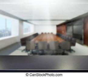 tabla, cima, y, mancha, oficina, Plano de fondo,