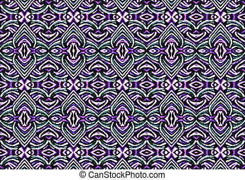 Ornate Decorative Abstract Pattern - Ornament seamless...