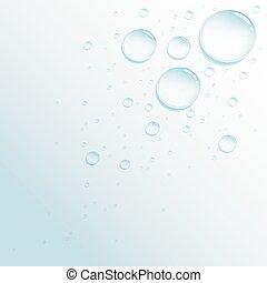 droplets - Rain water droplets