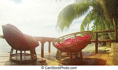 Comfy Resting Place Overlooking the Sihanoukville Beach -...