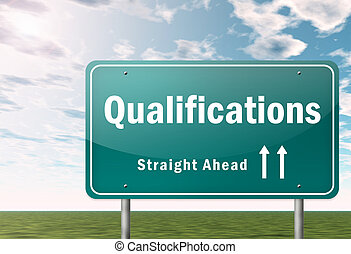 Highway Signpost Qualifications