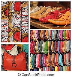 colorful accessories collection - images from  San Lorenzo marke