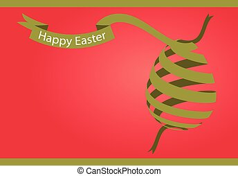 happy easter vector of illustration