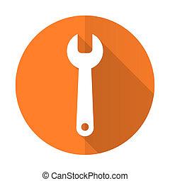 套間, 服務, 簽署, 橙, 工具, 圖象