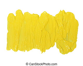 yellow brush strokes oil paint - photo yellow grunge brush...