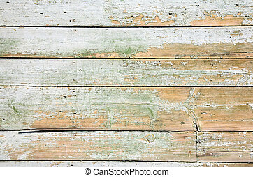 Wall of old rural house