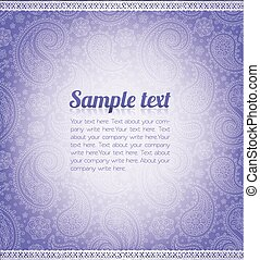 Background pattern with sample text